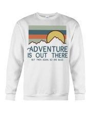 Vintage Hiking Adventure Is Out There Bugs Shirt Crewneck Sweatshirt thumbnail