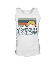 Vintage Hiking Adventure Is Out There Bugs Shirt Unisex Tank thumbnail