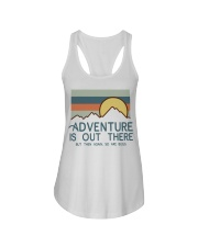 Vintage Hiking Adventure Is Out There Bugs Shirt Ladies Flowy Tank thumbnail