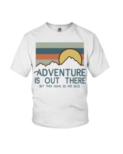 Vintage Hiking Adventure Is Out There Bugs Shirt Youth T-Shirt thumbnail