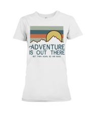 Vintage Hiking Adventure Is Out There Bugs Shirt Premium Fit Ladies Tee thumbnail