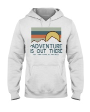 Vintage Hiking Adventure Is Out There Bugs Shirt Hooded Sweatshirt thumbnail