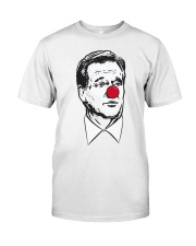 Barstool Sports Auction Roger Goodell Clown Shirt Classic T-Shirt front
