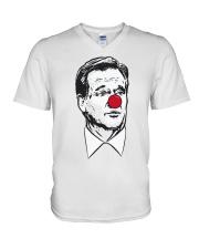 Barstool Sports Auction Roger Goodell Clown Shirt V-Neck T-Shirt thumbnail