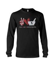 Peace Love Dispense Medicines Shirt Long Sleeve Tee thumbnail