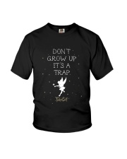 Tinkerbell Don't Grow Up It's A Trap Shirt Youth T-Shirt thumbnail