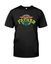 Turtley Awesome Father Shirt Premium Fit Mens Tee front