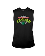 Turtley Awesome Father Shirt Sleeveless Tee thumbnail
