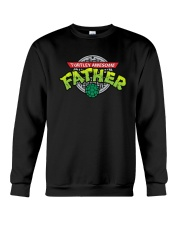 Turtley Awesome Father Shirt Crewneck Sweatshirt thumbnail