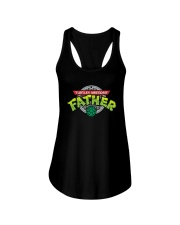 Turtley Awesome Father Shirt Ladies Flowy Tank thumbnail