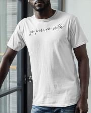 Yo Perreo Sola Shirt Classic T-Shirt apparel-classic-tshirt-lifestyle-front-39