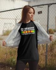 In Memory Of My Father Vietnam War Vet Shirt Classic T-Shirt apparel-classic-tshirt-lifestyle-07