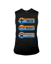 Vintage Faith Weights And Protein Shakes Shirt Sleeveless Tee thumbnail