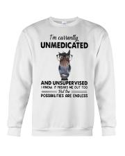 Heifer Im Currently Unmedicated Unsupervise Shirt Crewneck Sweatshirt thumbnail