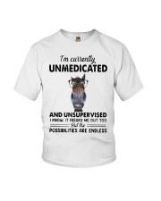 Heifer Im Currently Unmedicated Unsupervise Shirt Youth T-Shirt thumbnail