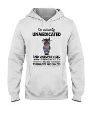 Heifer Im Currently Unmedicated Unsupervise Shirt Hooded Sweatshirt thumbnail