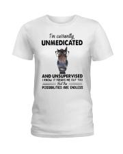 Heifer Im Currently Unmedicated Unsupervise Shirt Ladies T-Shirt thumbnail