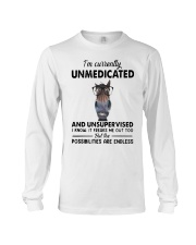 Heifer Im Currently Unmedicated Unsupervise Shirt Long Sleeve Tee thumbnail