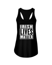 Leading Irish Americans Irish Lives Matter T Shirt Ladies Flowy Tank thumbnail