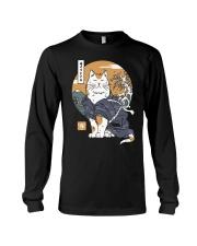 Samurai Cat Shirt Long Sleeve Tee thumbnail