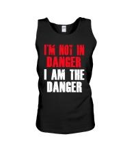 I'm Not In Danger I Am The Danger Shirt Unisex Tank thumbnail