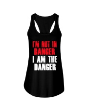 I'm Not In Danger I Am The Danger Shirt Ladies Flowy Tank thumbnail