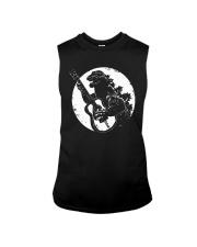 Godzilla Playing Guitar Shirt Sleeveless Tee thumbnail