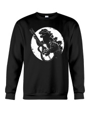 Godzilla Playing Guitar Shirt Crewneck Sweatshirt thumbnail