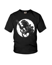 Godzilla Playing Guitar Shirt Youth T-Shirt thumbnail