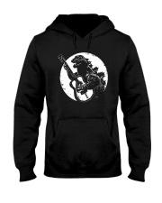 Godzilla Playing Guitar Shirt Hooded Sweatshirt thumbnail