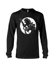Godzilla Playing Guitar Shirt Long Sleeve Tee thumbnail