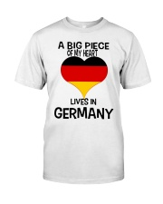 A Big Piece Of My Heart Lives In German Shirt Classic T-Shirt front