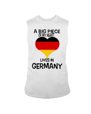 A Big Piece Of My Heart Lives In German Shirt Sleeveless Tee thumbnail