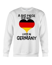 A Big Piece Of My Heart Lives In German Shirt Crewneck Sweatshirt thumbnail