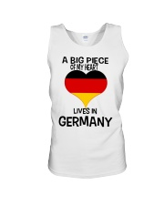 A Big Piece Of My Heart Lives In German Shirt Unisex Tank thumbnail