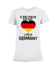 A Big Piece Of My Heart Lives In German Shirt Premium Fit Ladies Tee thumbnail