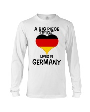 A Big Piece Of My Heart Lives In German Shirt Long Sleeve Tee thumbnail