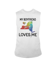 Lgbt My Boyfriend In New York Loves Me Shirt Sleeveless Tee thumbnail