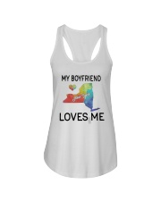 Lgbt My Boyfriend In New York Loves Me Shirt Ladies Flowy Tank thumbnail