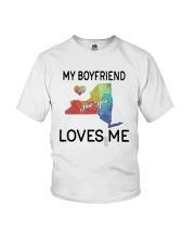 Lgbt My Boyfriend In New York Loves Me Shirt Youth T-Shirt thumbnail