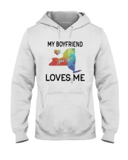 Lgbt My Boyfriend In New York Loves Me Shirt Hooded Sweatshirt thumbnail