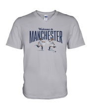 Lavelle Mewis Welcome To Manchester Shirt V-Neck T-Shirt thumbnail