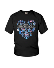 Heart Im A Stitch Aholic Shirt Youth T-Shirt tile