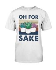 Vintage Cactus Oh For Sake Shirt Premium Fit Mens Tee thumbnail
