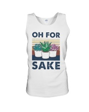 Vintage Cactus Oh For Sake Shirt Unisex Tank thumbnail
