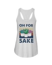 Vintage Cactus Oh For Sake Shirt Ladies Flowy Tank thumbnail