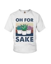 Vintage Cactus Oh For Sake Shirt Youth T-Shirt thumbnail