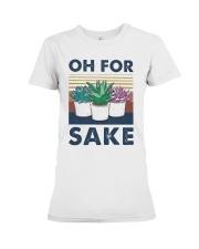 Vintage Cactus Oh For Sake Shirt Premium Fit Ladies Tee thumbnail
