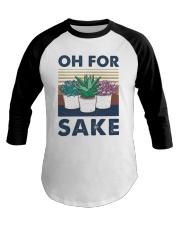 Vintage Cactus Oh For Sake Shirt Baseball Tee thumbnail
