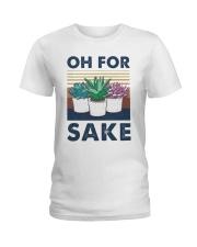 Vintage Cactus Oh For Sake Shirt Ladies T-Shirt thumbnail